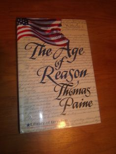 The Age of Reason Thomas Paine Library of Freedom HCDJ 1993 First Edition Gramer
