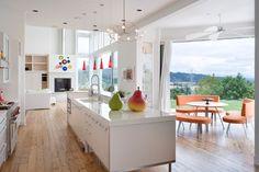 Brunstrom Residence - contemporary - kitchen - portland - Alan Mascord Design Associates Inc