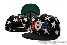 TMT--The Money Team Snapback Hat Caps Black White Star 177 229bd41e7da