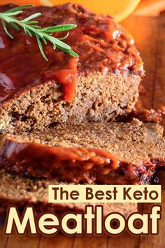 This Keto. This Keto Meatloaf is delicious, low carb and gluten free. Almost any side dish you like will go well with it! The Best Keto Meatloaf recipe. Low Carb Keto, Low Carb Recipes, Beef Recipes, Healthy Recipes, Turkey Recipes, Healthy Meatloaf Recipes, Healthy Food Blogs, Snacks Recipes, Ketogenic Recipes