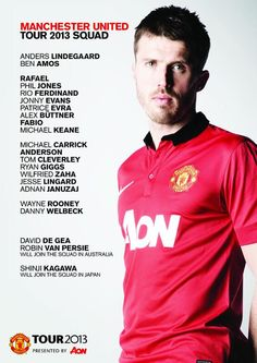 #mufc squad confirmed for #mutour ...
