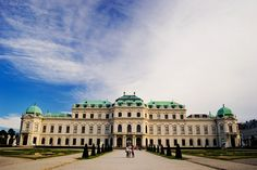 Belvedere Palace - Vienna, Austria
