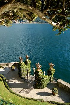loveisspeed.......: The Villa del Balbianello is a villa in the comune of Lenno (province of Como), Italy, overlooking Lake Como. It is located on the tip of a small wooded peninsula on the western shore of the south-west branch of Lake Como, not far from the Isola Comacina and is famous for its elaborate terraced gardens. The villa was built in 1787 on the site of a Franciscan monastery for the Cardinal Angelo Maria Durini. The two towers which can be seen in the picture are the campanili…