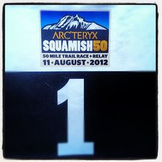 Racers starting to roll in for the Squamish 50.