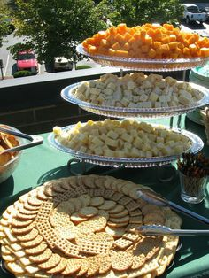 ,I have these platters.  New idea for my cheese obsession.