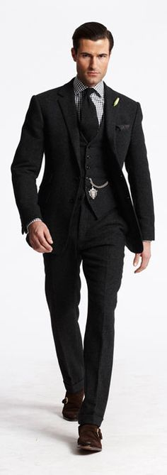 Men suit by Ralph Lauren