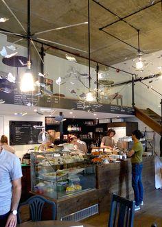 Everbean coffee shop, Mayfair London.