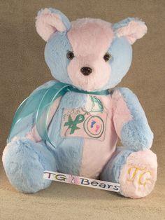 #PCOS Awareness handmade teddy bear #infertility