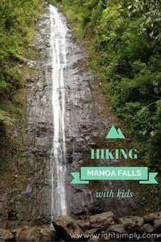 Hiking Manoa Falls, Oahu, HI with kids! #travelwithkids #familytravel