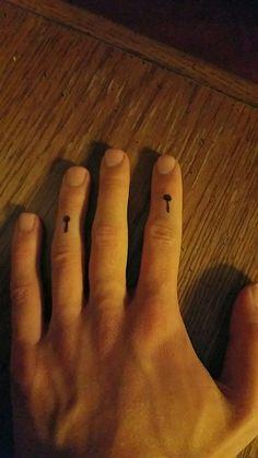 Marimba mallet tattoo idea!