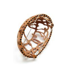 ALEXANDRA HOPP-USA Jewelry - Wood Work  http://www.alexandrahopp.com/