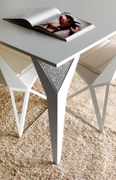 laser cut metal table joints