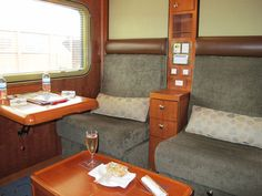 Platinum class on the Ghan. Couldn't we always travel like this?