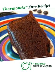 Recipe The Best Ever Mud Cake by learn to make this recipe easily in your kitchen machine and discover other Thermomix recipes in Baking - sweet. Sweet Recipes, Cake Recipes, Chocolate Mud Cake, Choc Ganache, Bellini Recipe, Thermomix Desserts, Love Cake, How Sweet Eats, No Bake Cake