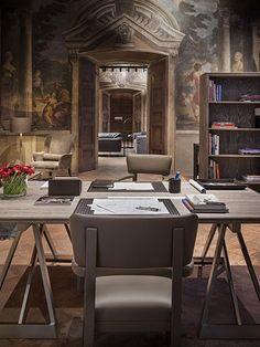 Home Decor von Bottega Veneta in historischem Ambiente