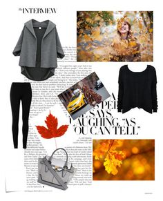 """""""autumn #greatcombination fff lfl """" by sabina1801 ❤ liked on Polyvore featuring Max Studio, Alice + Olivia, River Island and Post-It"""