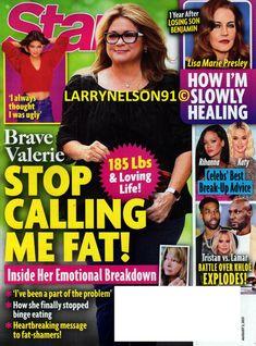 Star Magazine, Print Magazine, Latest Celebrity Gossip, Celebrity News, Gwen Stefani And Blake, Sharon Osbourne, Valerie Bertinelli, Lisa Marie Presley, Binge Eating