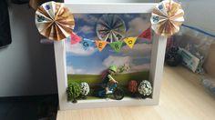 Geldgeschenk für ein Fahrrad   Runder Geburtstag  Kreativer Einfall