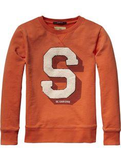 Scotch Shrunk Initial Sweater | sweat | Boys Clothing at Scotch & Soda