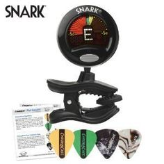 Snark SN5 Tuner for Guitar Bass Violin with ChromaCast Guitar Pick Sampler *** Details can be found by clicking on the image.Note:It is affiliate link to Amazon.