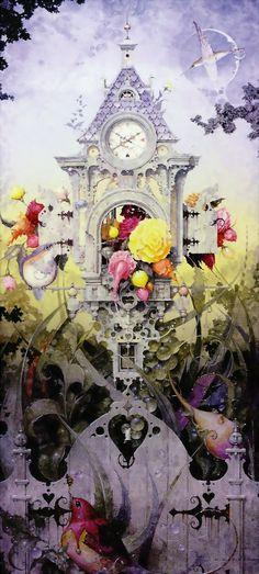 """Summer Solstice"" ~ Daniel Merriam ~ Watercolorist Extraordinaire ~ Miks' Pics ""Daniel Merriam lll"" board @ http://www.pinterest.com/msmgish/daniel-merriam-lll/"
