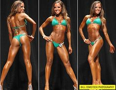 Courtney Prather's workout split - With Meal plan. I love the size/shape of her body. Something similar is my goal for competition time.