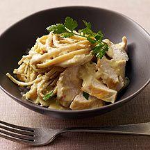 Kipfilet en pasta in roomsaus | Gezonde Recepten | Weight Watchers