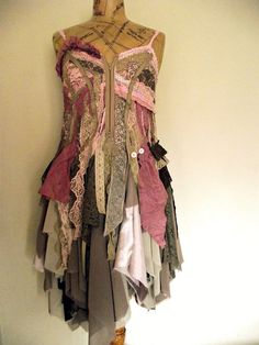 Not sure what this would be worn to, but love it!   Evelyn dress by NaturallyBohemian on Etsy, £150.00