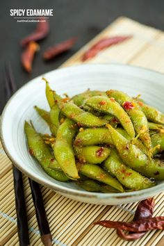 Spicy Edamame | Easy Japanese Recipes