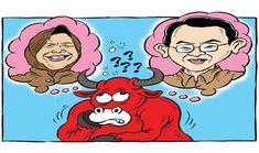 Kartun Politik Mice Cartoon - Agustus 2016: Banteng Bingung