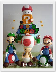 Mario Bros by Biscuit da Pati, via Flickr