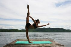 yoga on the water
