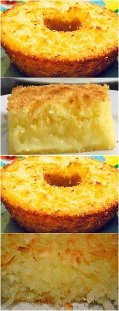 Numa tigela grande, junte o açúcar, os ovos e a manteiga.#receita#bolo#torta#doce#sobremesa#aniversario#pudim#mousse#pave#Cheesecake#chocolate#confeitaria# Sweet Recipes, Cake Recipes, Dessert Recipes, Cooking Cake, Cooking Recipes, Cupcakes, Cupcake Cakes, Peanut Butter Desserts, Chocolate