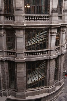 exterior of The National Art Museum  - Mexico City by Phil Marion, via Flickr