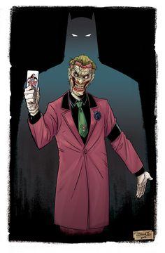 The Joker by Diego Olortegui Gonzales Joker Dc Comics, Joker Comic, Joker Pics, Joker Art, Joker Batman, Batman Stuff, Gotham Batman, Batman Robin, Comic Art
