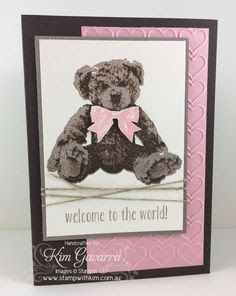 stampin up Baby bear card ideas - Google Search