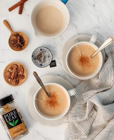 Homemade pecan milk is so delicious and easy to make! This dairy free nut milk creates the perfect fall vegan chai latte.
