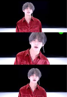 Oh hello dangling earring :,) || #V #BTS #DNA #LOVE_YOURSELF