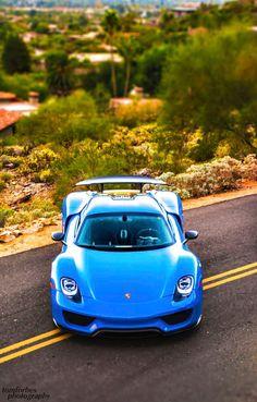 #Porsche 918 #Spyder