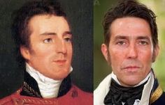 Regencylookalike: The Duke of Wellington and Ciaran Hinds as Captain Wentworth in the BBC's Persuasion Period Movies, Period Dramas, Ciaran Hinds, New Board, Jane Austen, Regency, Duke, Romantic, Writing