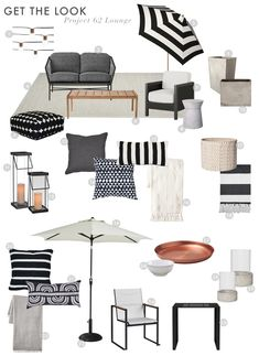 Emily Henderson Target Outdoor Collection Project 62 Get The Look Lounge Area