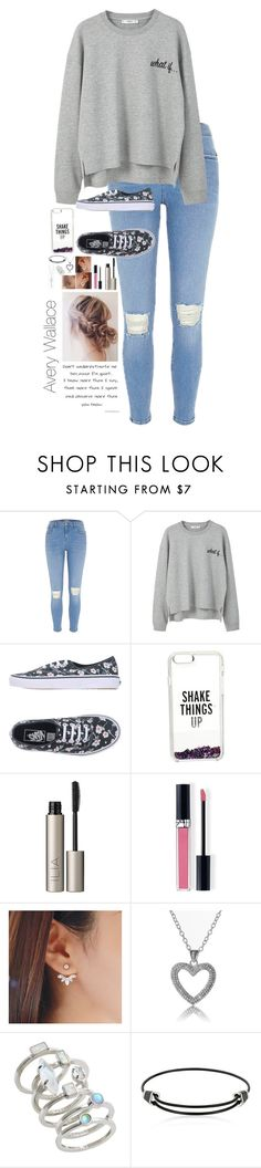 """""""Avery Wallace"""" by directioner-four-ever on Polyvore featuring MANGO, Vans, Kate Spade, Ilia, Christian Dior, Kendra Scott, Montblanc and Tiffany & Co."""