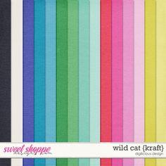 Wild Cat {Kraft} by Digilicious Design
