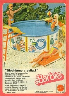 I had this... kind of ruined my barbies since they got all wet... but it was still cool.
