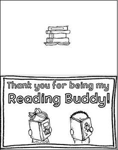 Reading Buddies: Thank you for being my #ReadingBuddy