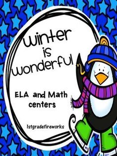 ELA & Math Centers for Grade 1-2            ELA includes: ContractionsPresent, Past, Future VerbsNouns, Verbs, AdjectivesMixed-Up SentencesWriting Topic & Details            MATH includes: Math  Mountains Addition & Subtraction Making  10 StrategyPlace  Value Addition     Ten  Groups