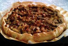 Torta salata di patate e carciofi Pie, Desserts, Food, Contouring, Love, Torte, Tailgate Desserts, Cake, Deserts
