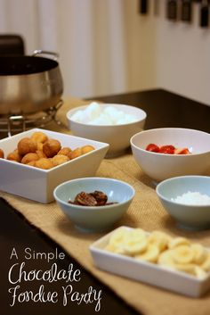 Easy Chocolate Fondue #shop #KraftEssentials #cbias