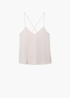 Corpete agstrap - Camisas de Mulher | MANGO