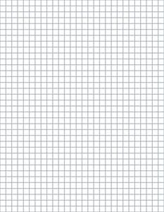 Download Our Free Crochet Graph Paper at Crochet.About.com -- 4 Stitches and 4 Rows Per Inch